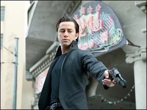 "Actor Joseph Gordon-Levitt stars in ""Looper."""
