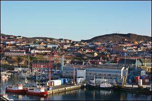 Ilulissat is Greenland's third-largest village. Each summer, it hosts dozens of researchers and hundreds of tourists