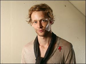 Johnny Lewis posing for a portrait during the 36th Toronto International Film Festival in Toronto, Canada.
