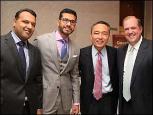 From left, Dr. Zafar, Dr. Baig, Dr. Reed, and Dr. Kasper.