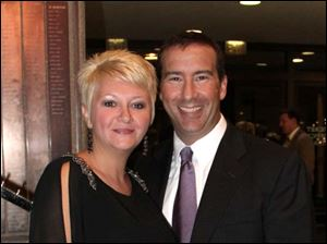 Mr. Kevin Cook and Mrs. Shana Cook, Metro CEO, Mercy Health Partners and President & CEO, Mercy St. Vincent Medical Center.