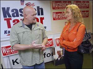 Congressional candidate Joe Wurzelbacher picked up support from a pro-military political action committee