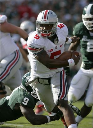 Ohio State quarterback Braxton Miller helped lead