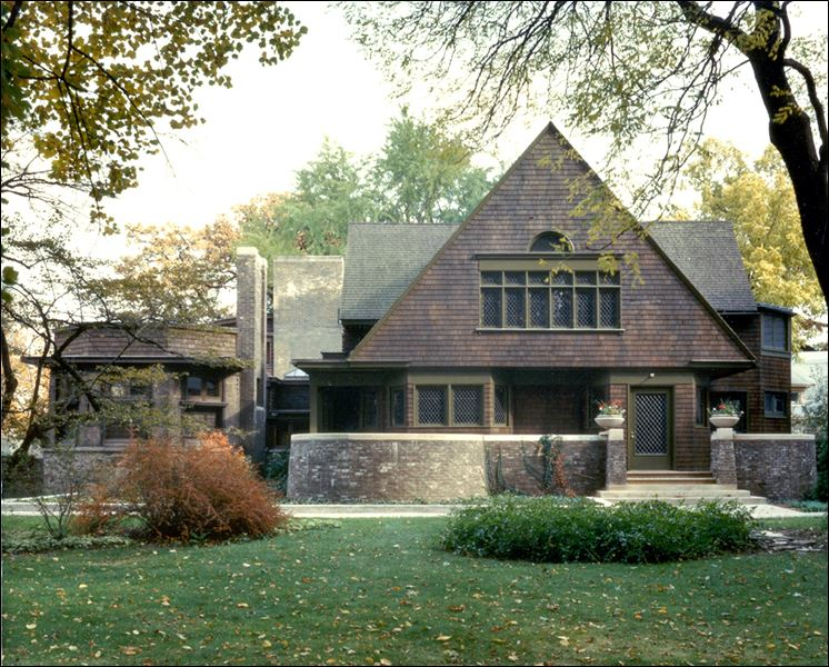 Frank Lloyd Wright Mother Lode In Illinois Town Toledo Blade