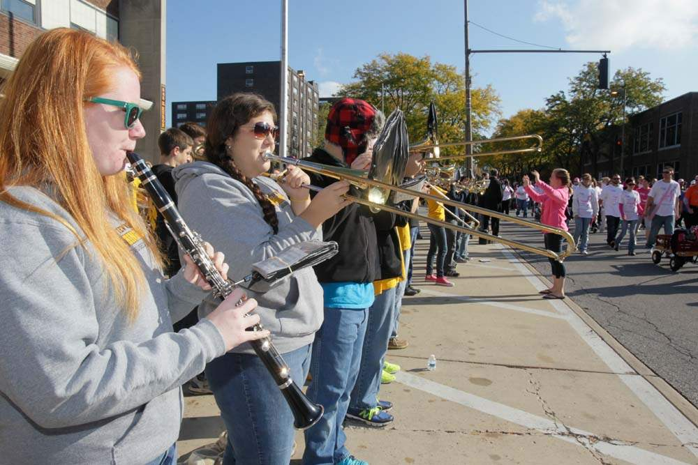 Northview-High-School-marching-band-members