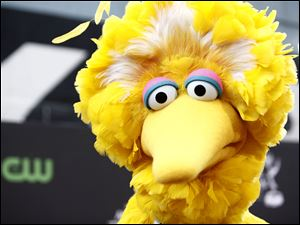 Big Bird of the children's television program 'Sesame Street.'
