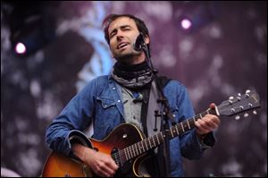 Andrew Bird performs earlier this year in California.