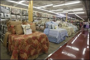 Bedding is featured in The Andersons, which added 26,000 square feet of home goods, including mattresses and furniture. A Bed, Bath & Beyond store is anywhere from 10,000 to 50,000 square feet.