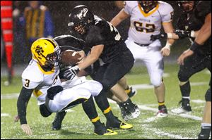 Perrysburg's defense proved to be too much for Northview's senior quarterback Kyle Kremchek.