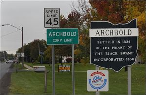The village of Archbold has long been a GOP stronghold.