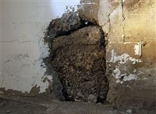 A-portion-of-the-basement-wall-is-deteriorating