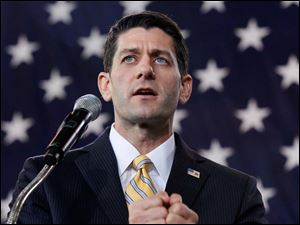 Speaking on unemployment, Mr. Ryan said,