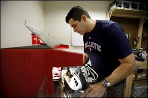 Dave Aleo begins his fourth season as head equipment manager for the Walleye and his 19th year in pro hockey.