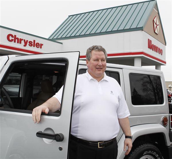 Monroe Car Dealer Promotes New Dart, Wrangler