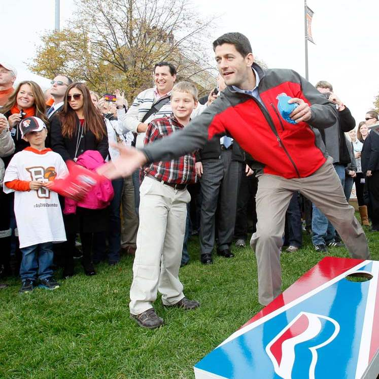 Paul-Ryan-BGSU-cornhole