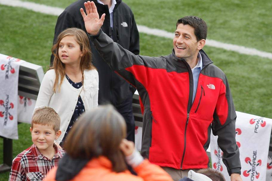 Paul-Ryan-BGSU-son-and-daughter