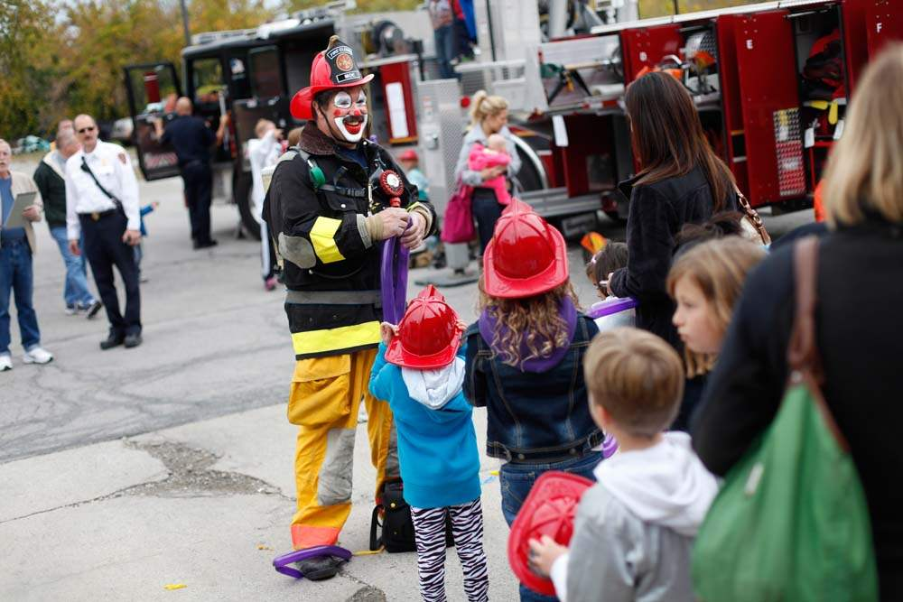 Sylvania-Fire-Safety-Festival-Moe-clown