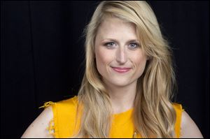 "Actress Mamie Gummer portrays the title character in the CW drama series ""Emily Owens M.D."""