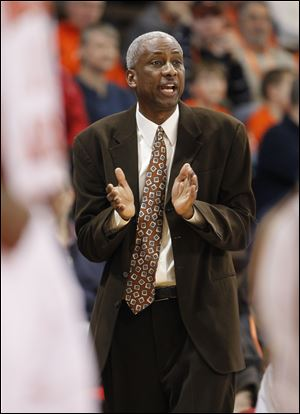 Bowling Green State University head coach Louis Orr.