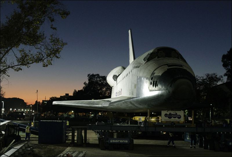 space shuttle in los angeles - photo #18