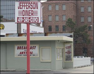 Jefferson Express, a diner on Jefferson Avenue in downtown Toledo.