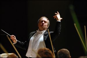Valery Gergiev will conduct the Mariinsky Orchestra on Oct. 27 in Ann Arbor.