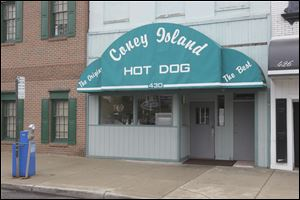 Coney Island Hotdog on North Superior Street in downtown Toledo.