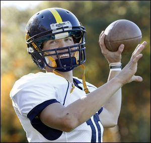 Whiteford senior quarterback Gabe LaRoy is 55-of-94 passing for 844 yards and six touchdowns this season.