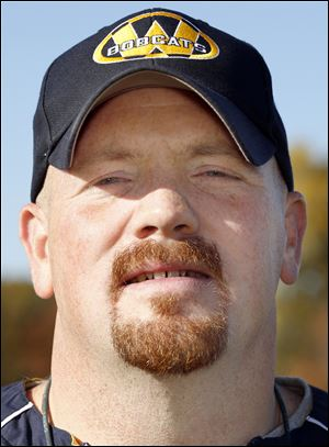 Jason Mensing is 7-1 in his first year as head football coach at Whiteford.