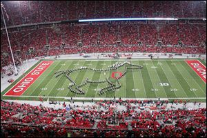 Elmore's Jon Waters and the OSU marching band Oct. ode to video games has brought the renowned band worldwide attention.