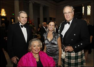 Fritz and Mary Wolfe with Debbie and Tony Knight at the Centenary Celebration of Museum Leadership at the Toledo Museum of Art.