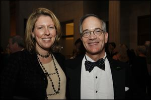 Susan and John Robinson Block at the Centenary Celebration of Museum Leadership at the Toledo Museum of Art.