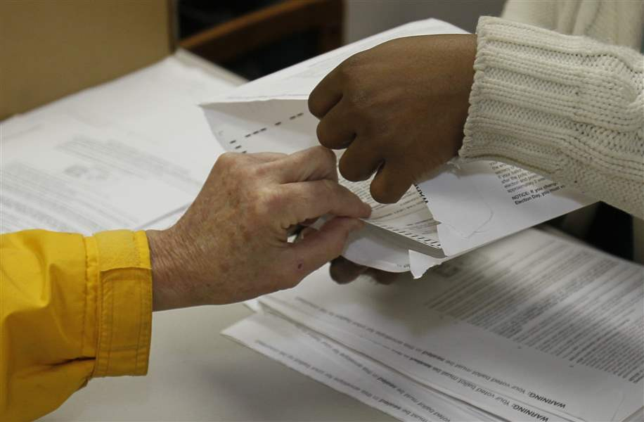 Absentee-early-ballots