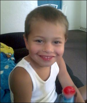 Taevion Maulsby, 4-year-old boy who died in Vinton Street fire.