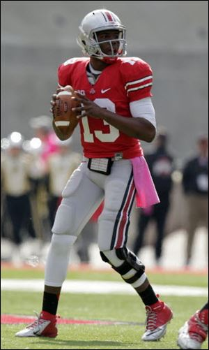 Ohio State's Kenny Guiton led the Buckeyes to a comeback win over Purdue on Saturday.