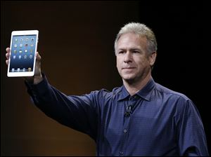 Phil Schiller, Apple's senior vice president of worldwide product marketing, introduces the iPad Mini.