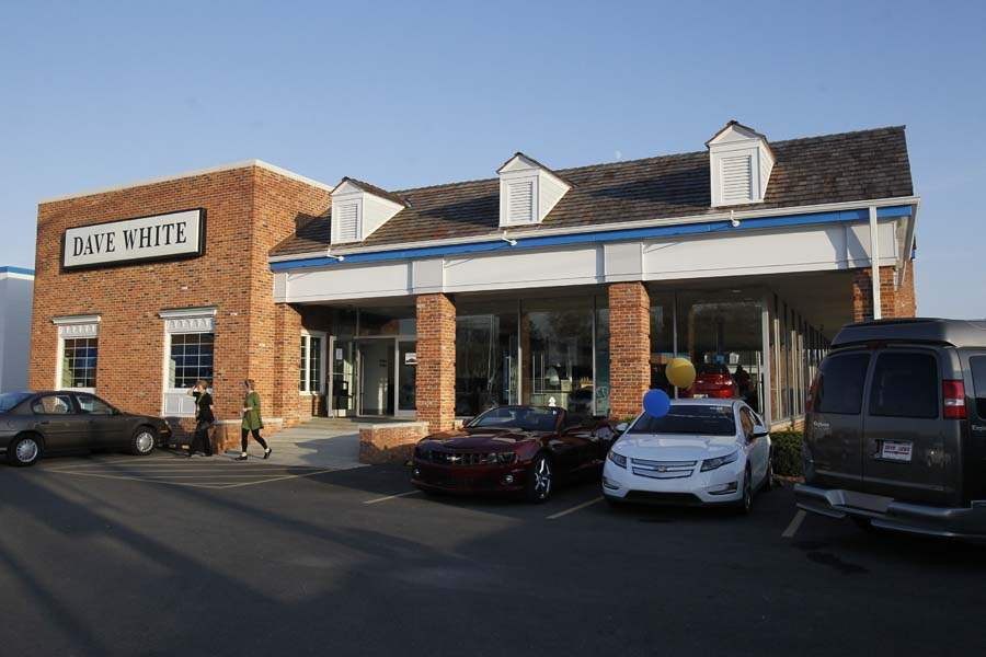 dave white chevrolet grand opening - the blade