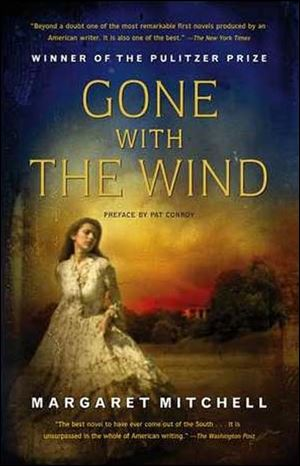 'Gone With The Wind' by Margaret Mitchell.