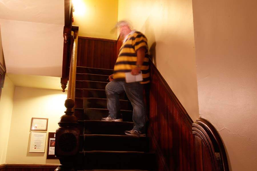 FEA-HAUNTED28p-kirk-stairs