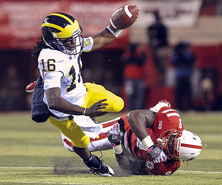 Michigan-Nebraska-Football