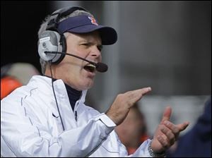 Ex-Toledo coach Tim Beckman returns to Ohio this week as his Illinois squad visits the Buckeyes.