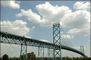 Ambassador Bridge owner Matty Moroun has spearheaded a ballot proposal to require a public vote to build a competing international crossing between Detroit and Windsor, Ontario.