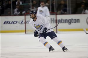 Toledo Walleye defenseman Wes O'Neill.