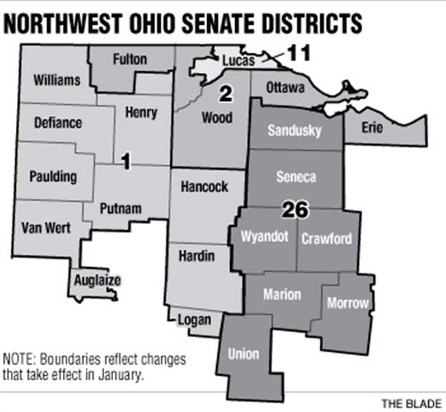 Northwest-Ohio-Senate-Districts