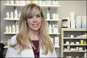Ginger berrie is a pharmacist at Mercy St. Vincent Medical Center.