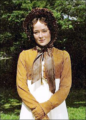 Jennifer Ehle wears a Spencer jacket in PBS' production of 'Pride and Prejudice.'