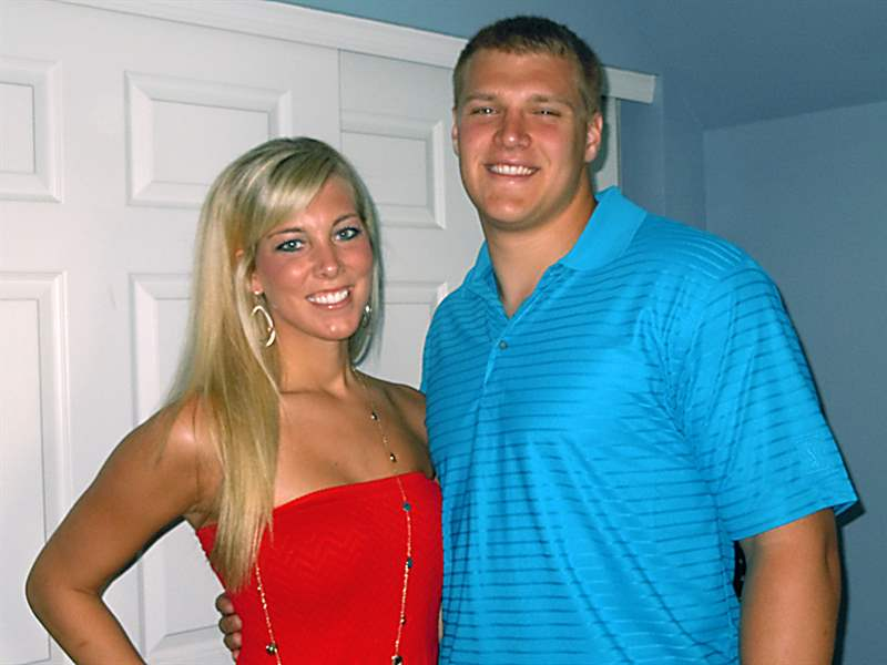 Toledo-football-player-Ben-Pike-and-his-fiancee-Ashlee-Barrett