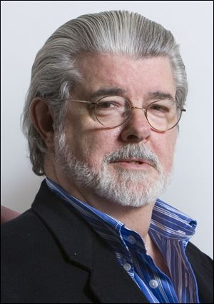 Director/producer George Lucas