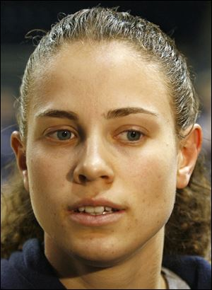 University of Toledo basketball player Naama Shafir.