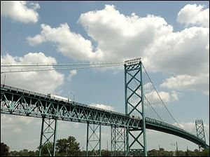 The owner of the Ambassador Bridge backed Proposal 6, which would require a statewide referendum before construction of a second link over the Detroit River.